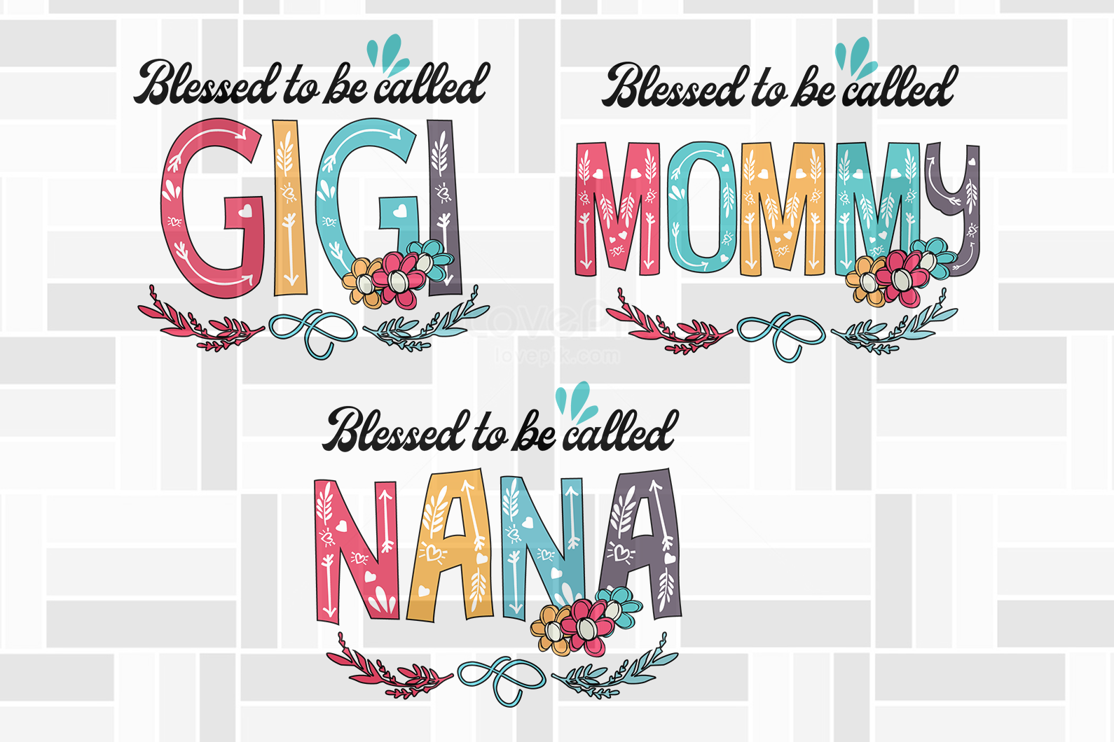 Blessed to be called bundle svg, family svg, family shirt,family gift,trending svg, Files For Silhouette, Files For Cricut, SVG, DXF, EPS, PNG, Instant Download