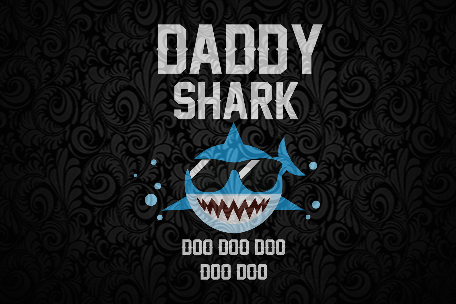 Daddy shark doo doo doo svg, fathers day svg, fathers day svg, fathers day gift, gift for papa, fathers day lover, fathers day lover gift, dad life, dad svg, family life svg, Files For Silhouette, Files For Cricut, SVG, DXF, EPS, PNG, Instant Download