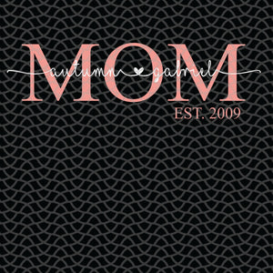 Mom est 2019, mom svg, mom gift, mom life, family svg, family shirt,family gift,trending svg, Files For Silhouette, Files For Cricut, SVG, DXF, EPS, PNG, Instant Download