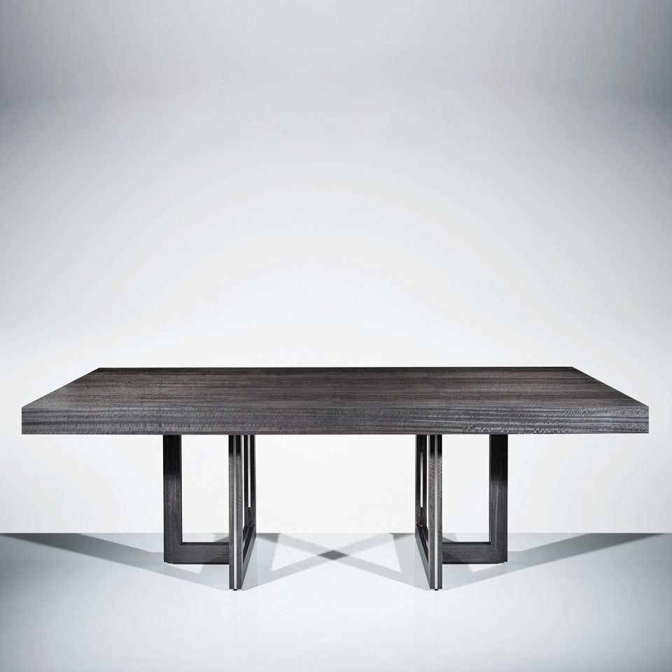 Helix Dining Table - Grey Eucalyptus