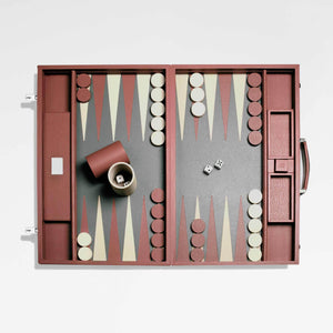 Mayfair Backgammon Case - Mocha