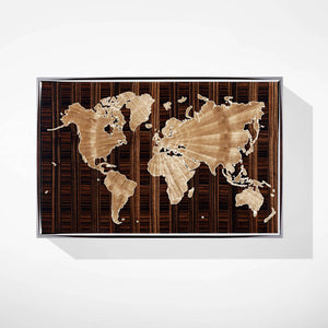 World Map Jewellery Box