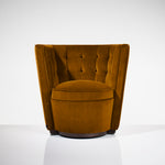 Deco Tub Chair - Amber