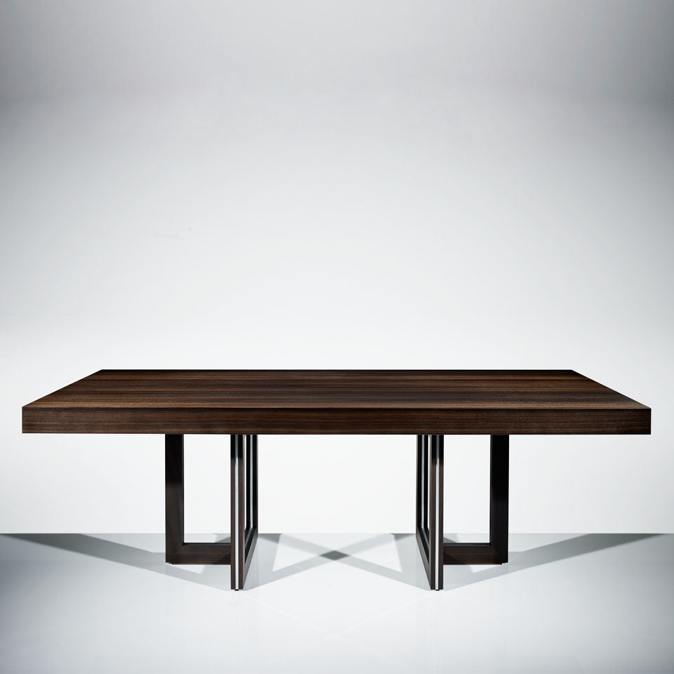 Helix Dining Table - Fumed Eucalyptus