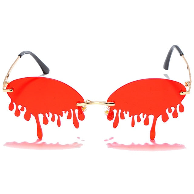 Vintage Unique Tears  Sunglasses