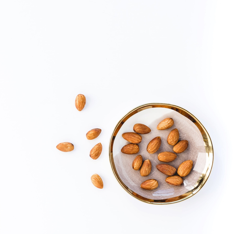A serving of almonds