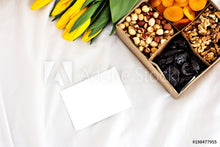 Load image into Gallery viewer, Beautiful Nuts & Almonds Gift Box - Aja Gourmet Bounty
