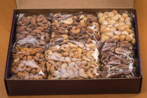 "Nuts o"" treat box - Aja Gourmet Bounty"
