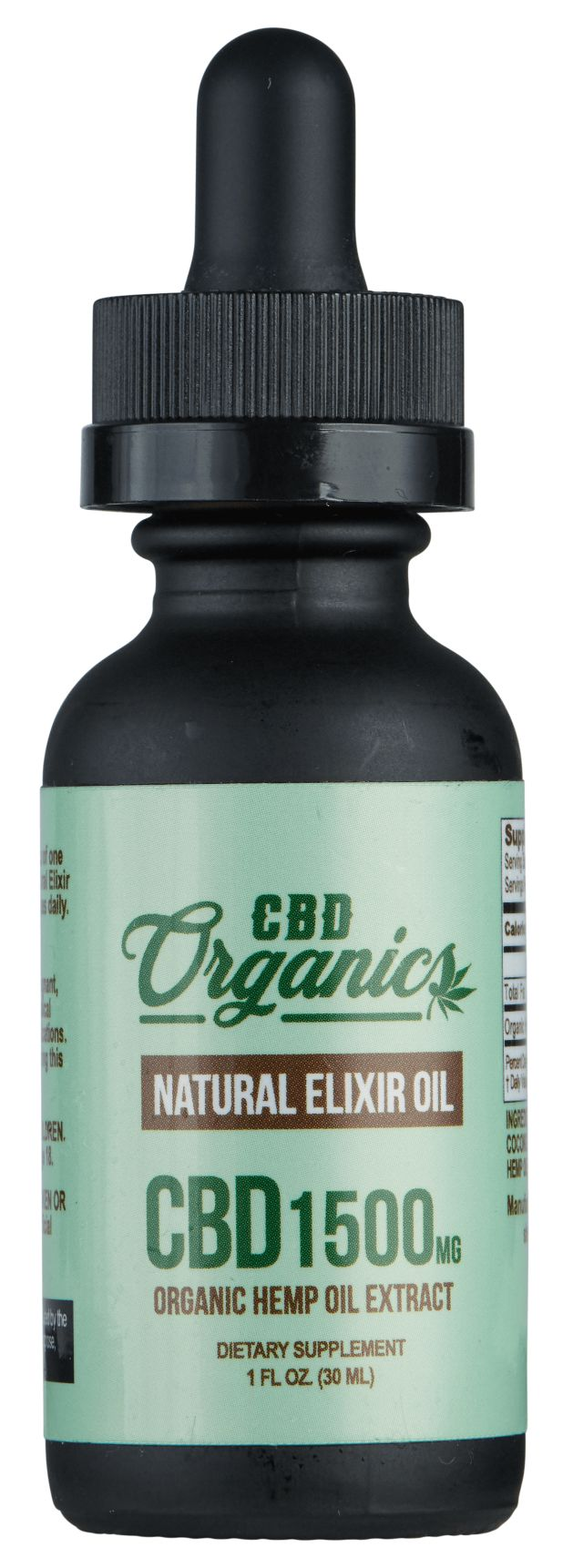 CBD Oil 1500mg - Shop CBD Organics