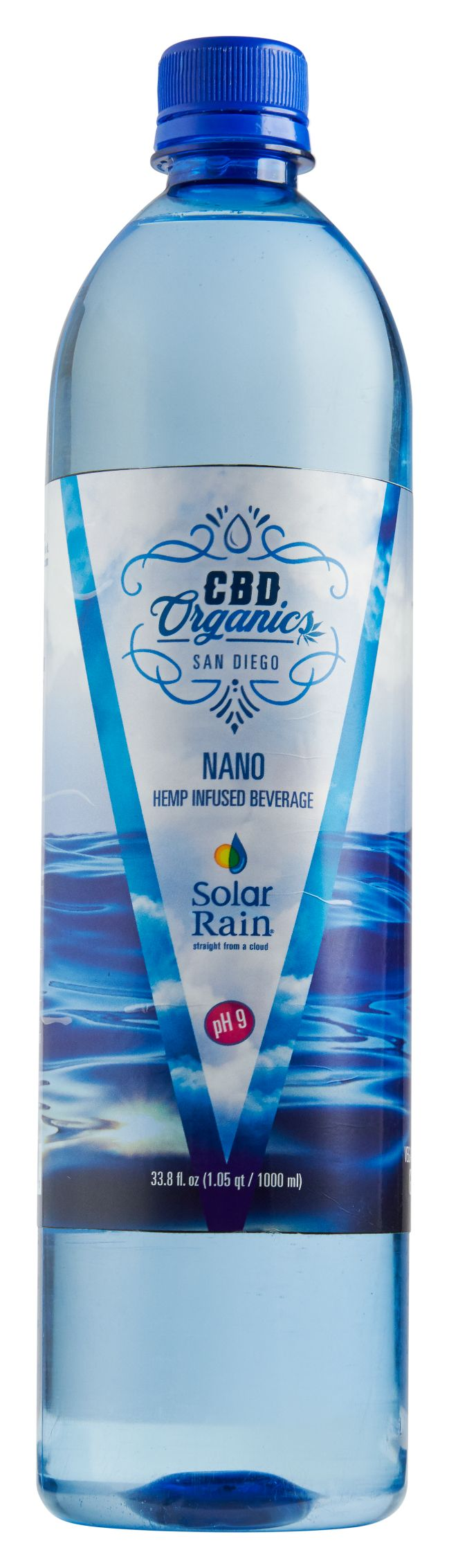 Nano CBD Water 12 pack 1000mL - CBD Organics