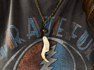 Groundhog Jaw Necklace