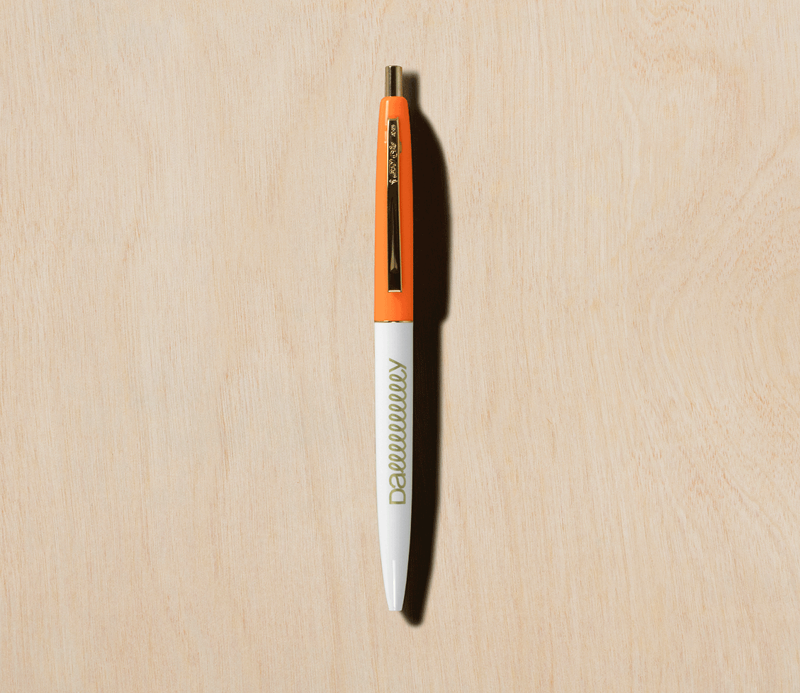 Slow Rolling Pens - Naps in the Grove Orange