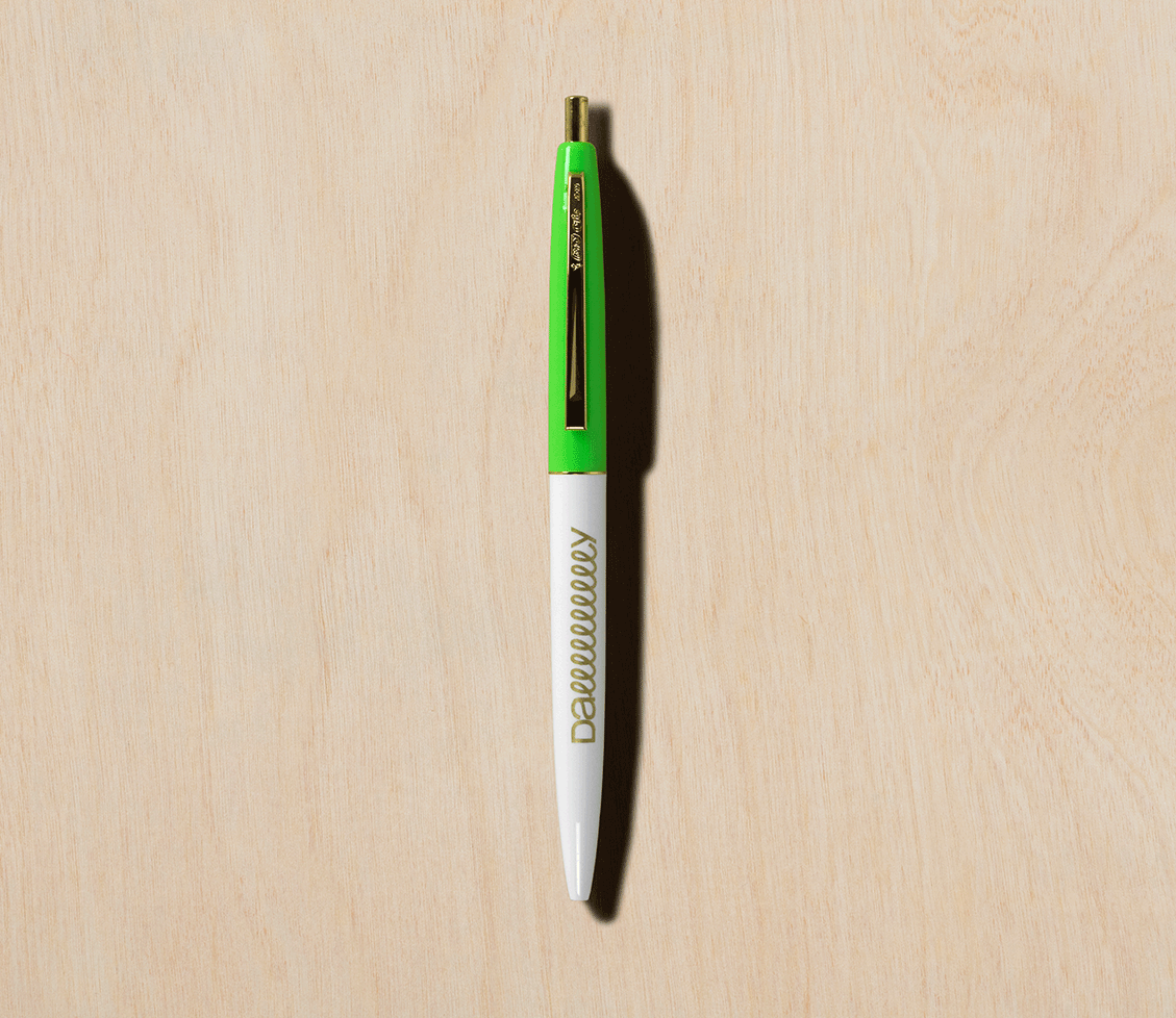 Slow Rolling Pens - Barefoot in the Grass Green