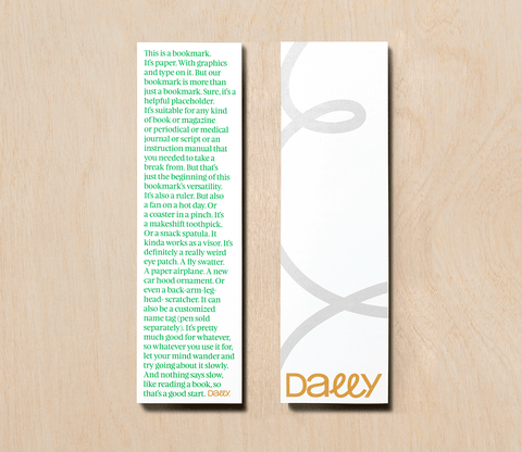 Easy Breezy Bookmark