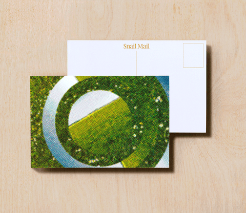 Snail Mail Postcard - Barefoot in the Grass
