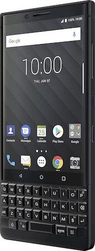 BlackBerry KEY2 Unlocked Android Smartphone 4G LTE, 64 GB