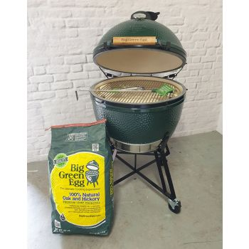 Big Green Egg Extra Large Bundle on standard Nest