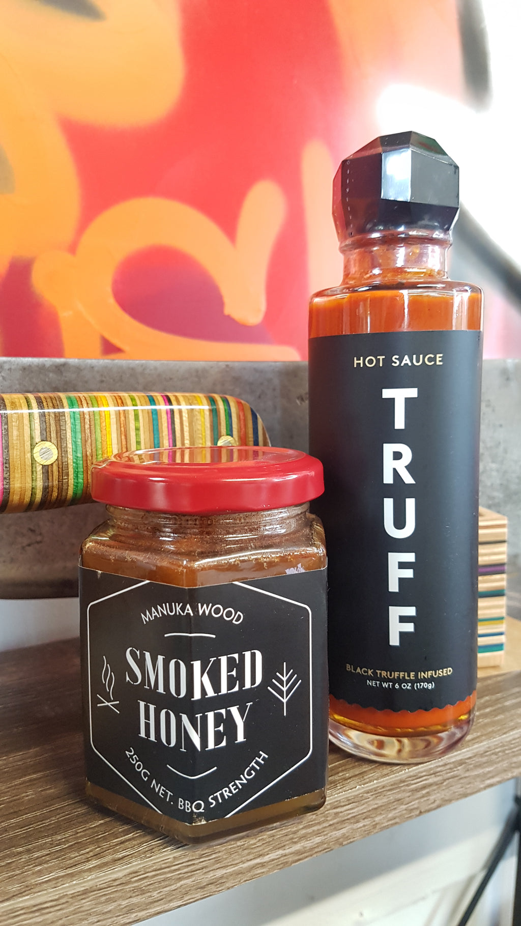 Truff Hot and  The Flavoury Smoked Chilli Honey Combo