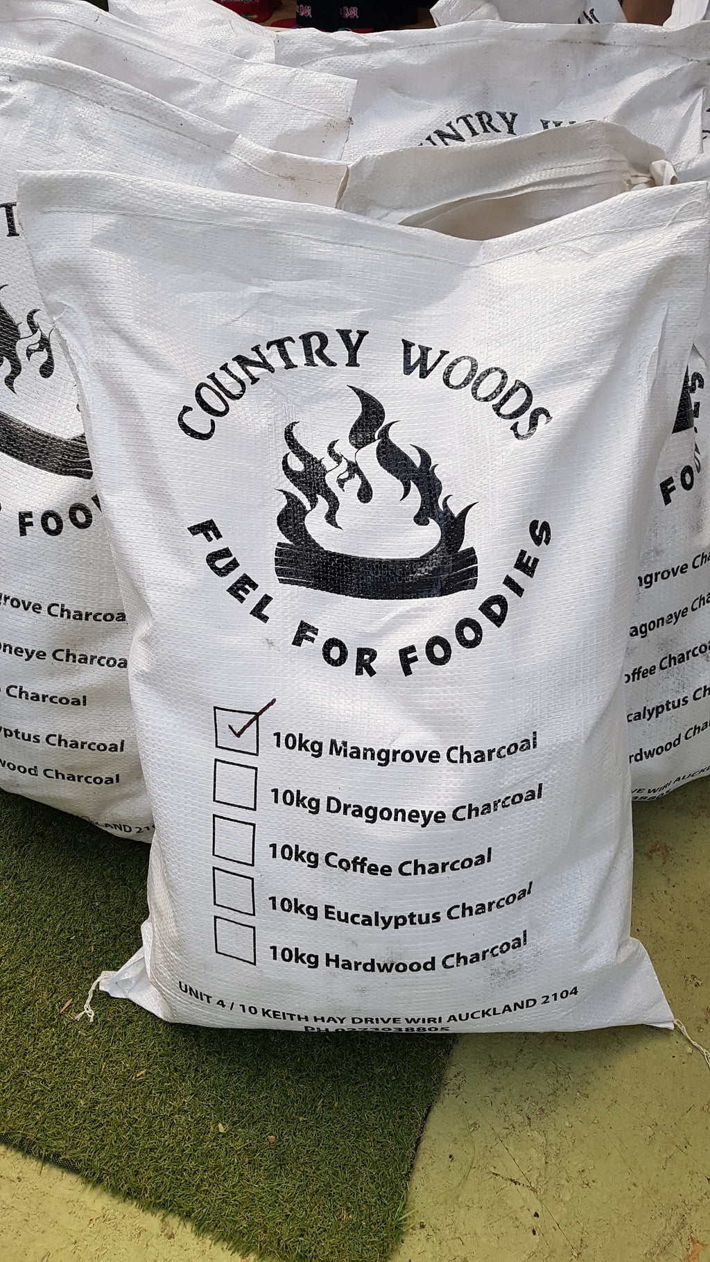 Mangrove Natural Lump Charcoal 10kg CountryWoods NZ