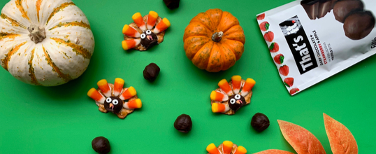 Super Fun & Edible Thanksgiving Kids Crafts