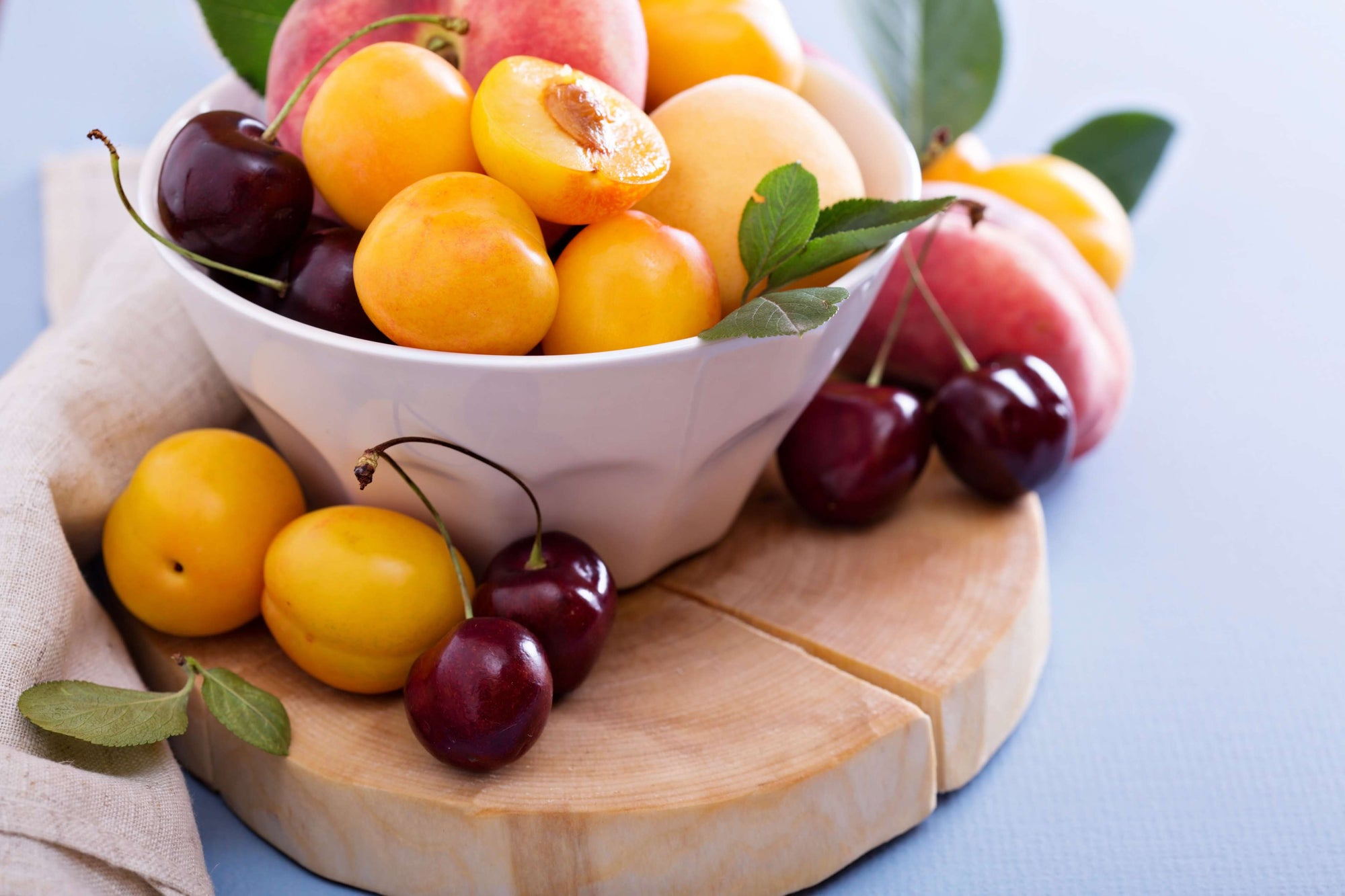 Eating Stone Fruits Reduces Health Risks