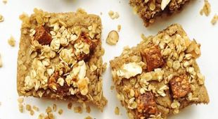 Fruit + Nut Crumble Bars Recipe