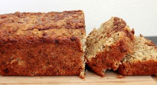 Hazelnut Banana Bread Recipe (Gluten-Free & Vegan)