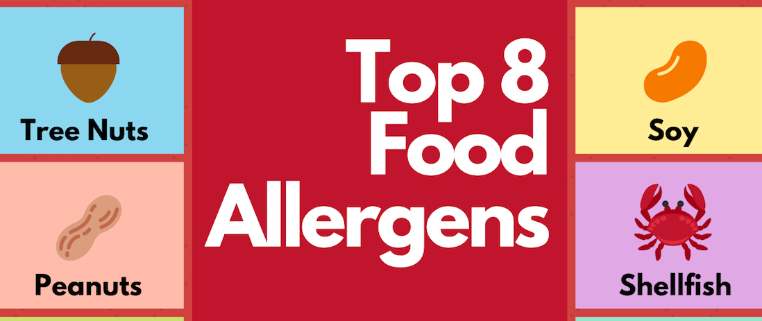 A Quick Guide to Navigating the Top 8 Allergens