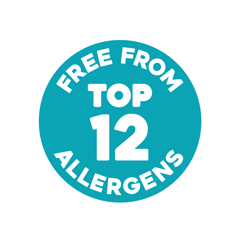 Free From Top 12 Allergens