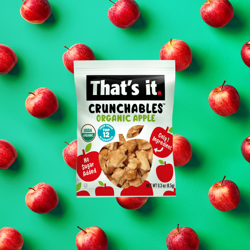 Organic Apple Crunchables Pattern