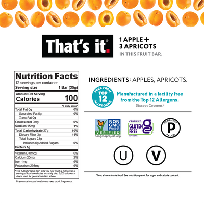 Apple Apricot Nutrition Facts