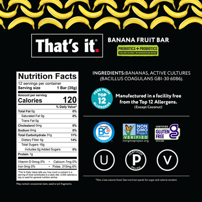 Banana Probiotic NFP