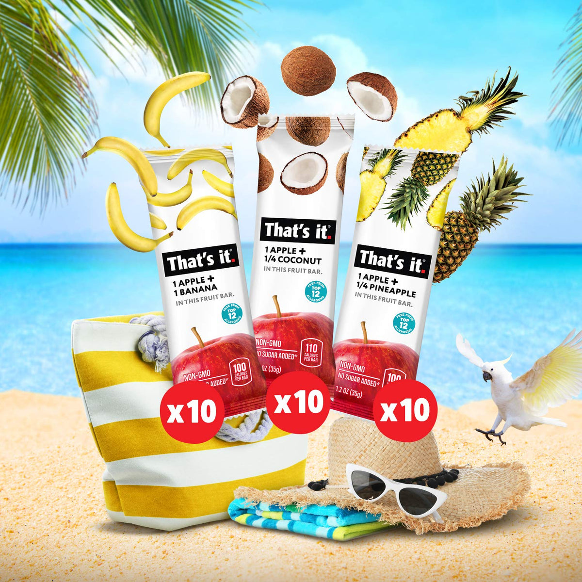 Tropical Bar Variety Pack