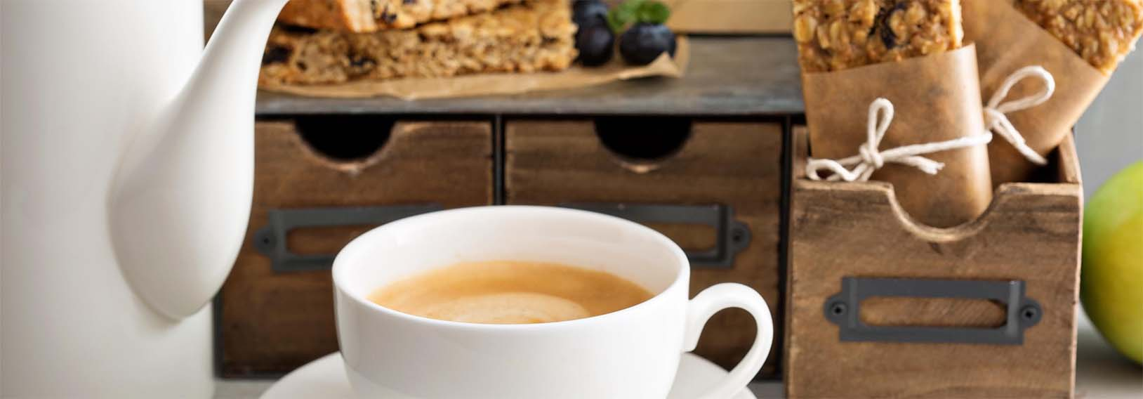Sweet & Healthy Ideas for Tea and Coffee Snacks