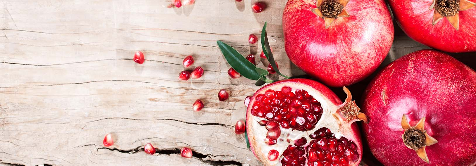 pomegranate facts from That's it.