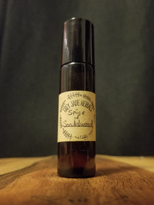 Spice of Sandalwood - Natural Roll-On Perfume for All Genders