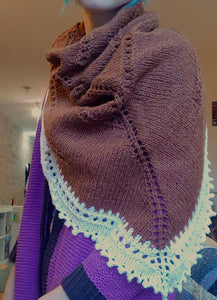 ode to autumn shawl