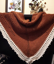 Load image into Gallery viewer, ode to autumn shawl