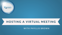 Hosting the perfect virtual meeting