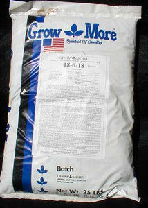 Growmore 18-6-18 Soluble Palm Food - 25 lb.