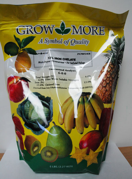 Growmore Iron 13% 5lbs