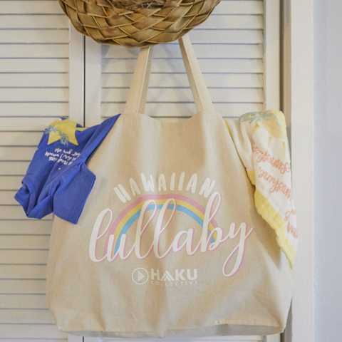 Hawaiian Lullaby Mama Tote
