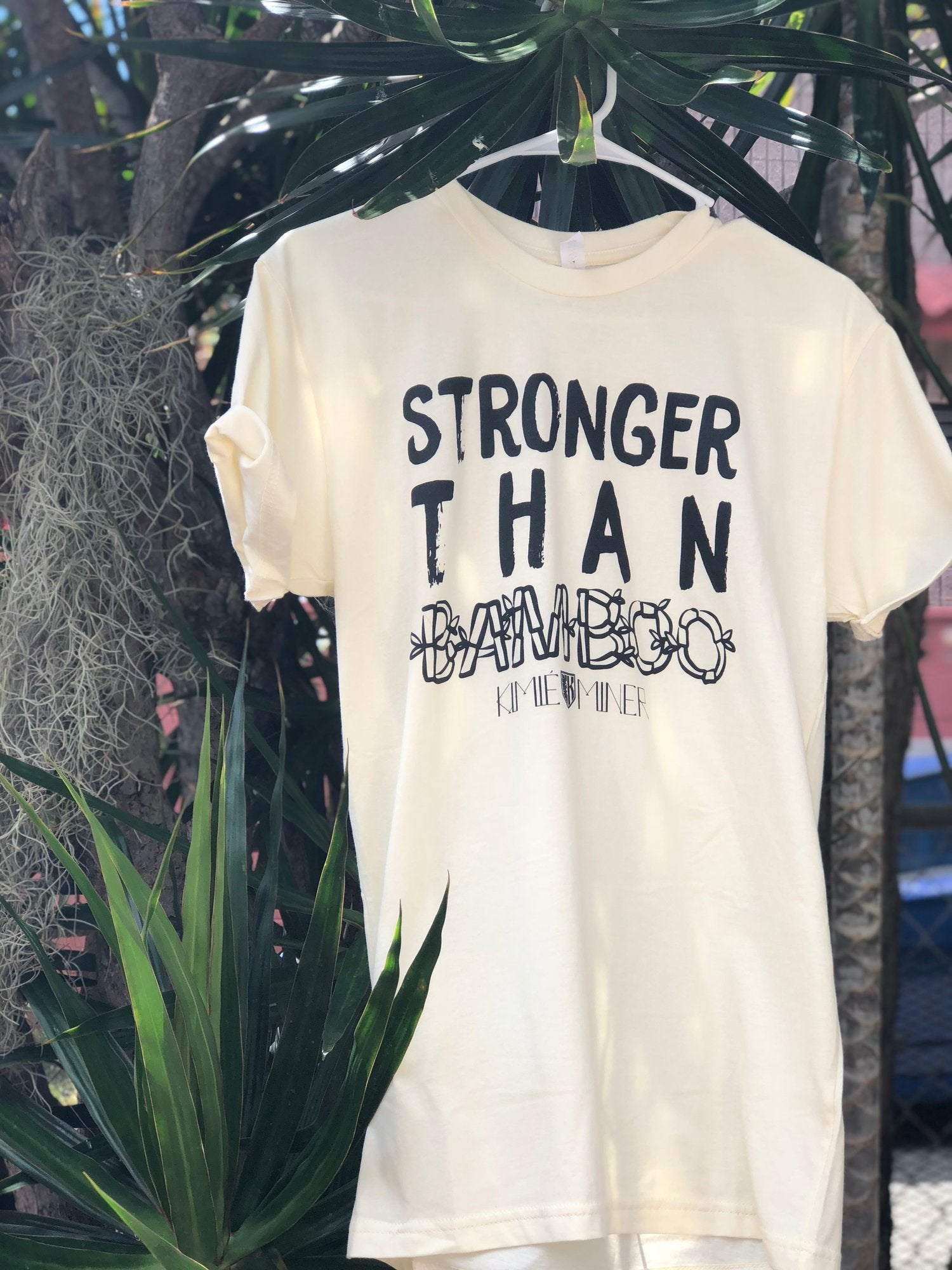 Stronger than Bamboo Adult T-Shirt