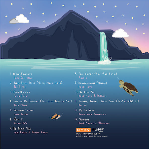 Hawaiian Lullaby Album - MP3 Digital Download