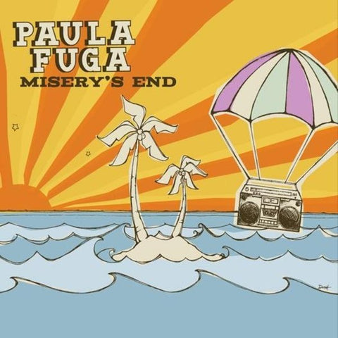 Misery's End EP - Paula Fuga CD