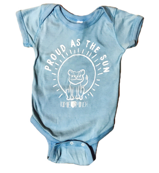 Proud as the Sun Baby Onesie