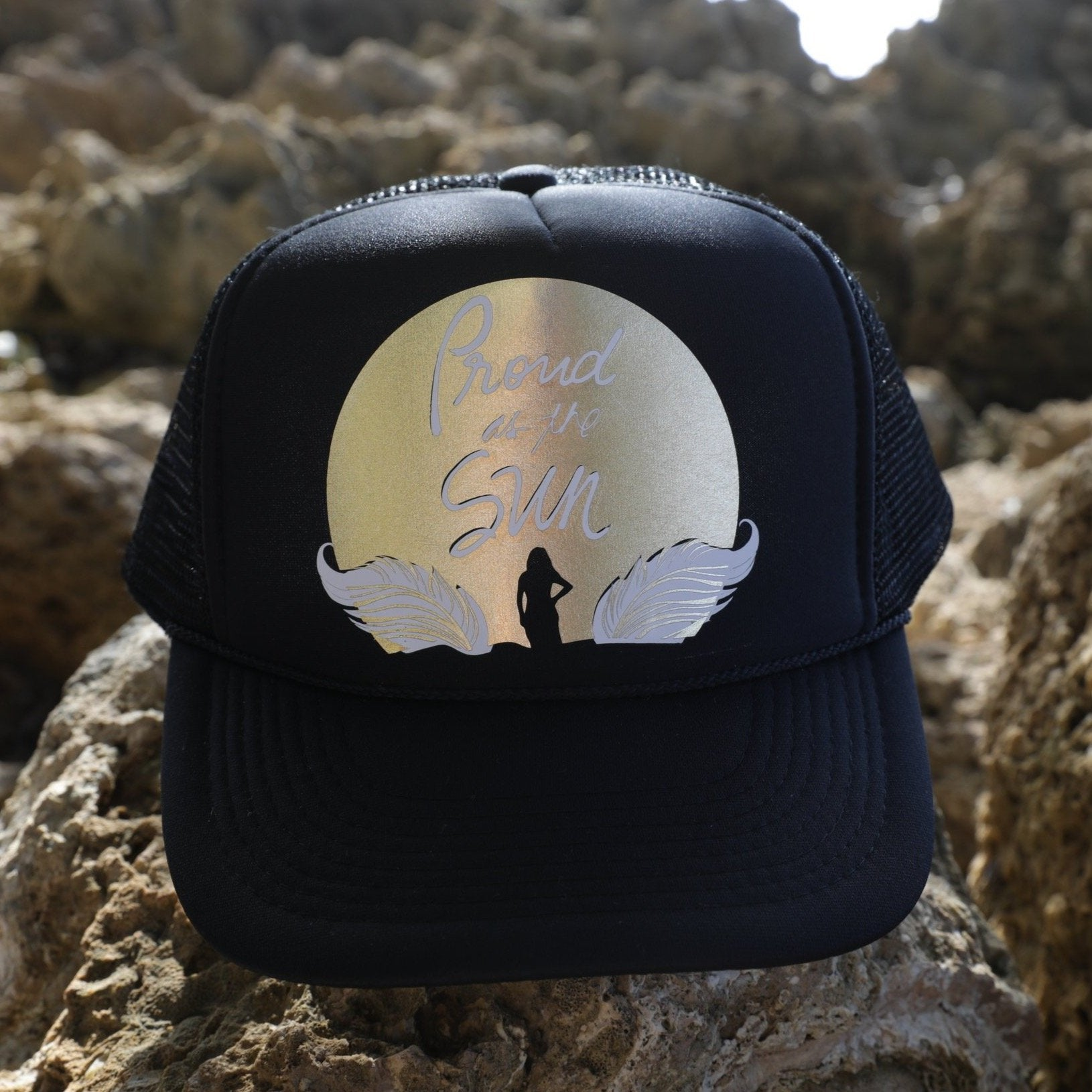 Proud as the Sun Adult Trucker Hat