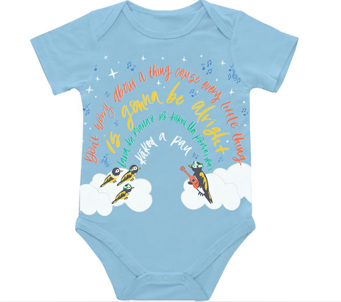 Three Little Birds Baby Onesie 6-12M