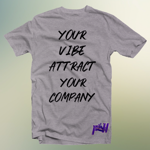 Ladies Vibe Attract Your Company Shirts