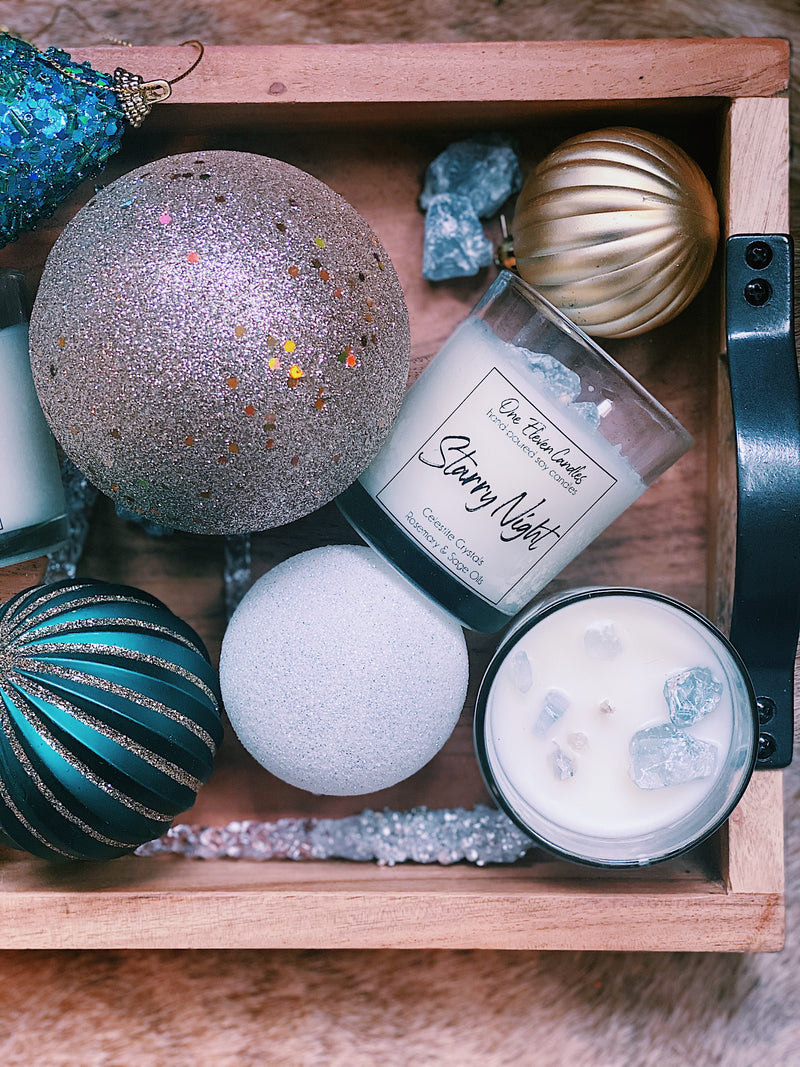 Starry Night - Crystal Soy Candle